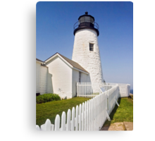 Maine's Pemaquid Point Lighthouse Canvas Print