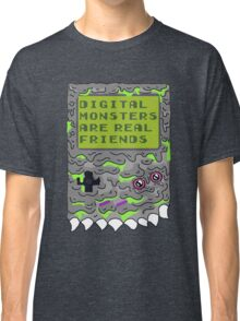 Digital Monsters Are Real Friends! Classic T-Shirt