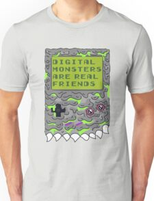 Digital Monsters Are Real Friends! Unisex T-Shirt