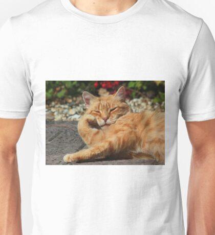 Bored cat Unisex T-Shirt