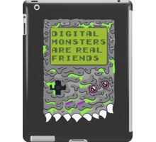 Digital Monsters Are Real Friends! iPad Case/Skin