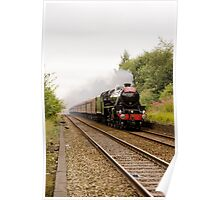"Cumbrian Mountain Express hauled by a Stanier ""Black Five"" Poster"
