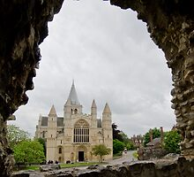 Rochester Cathedral by Sue Martin