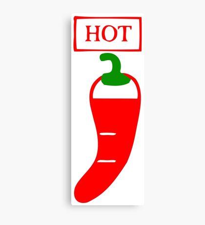 hot chilli Canvas Print