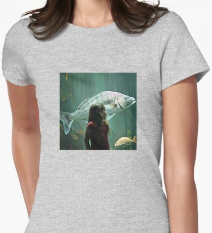 Mila and the Big Fish Womens Fitted T-Shirt