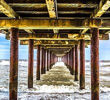 Under Southwold Pier by timpr