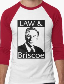Law & Briscoe Men's Baseball ¾ T-Shirt