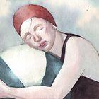 Swimmer by HelgaMcLeod