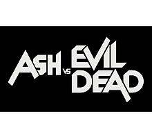 Ash vs Evil Dead Photographic Print