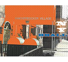 Knicks Fans  Photographic Print