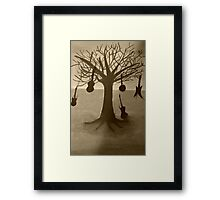 The music tree edited version Framed Print