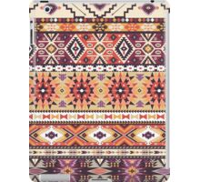 Seamless colorful pattern in tribal style iPad Case/Skin