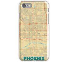 Phoenix Map Retro iPhone Case/Skin