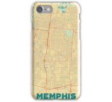 Memphis Map Retro iPhone Case/Skin