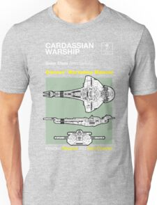Owners' Manual - Cardassian Warship - T-shirt Unisex T-Shirt