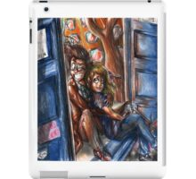 The Tenth Doctor and Rose iPad Case/Skin