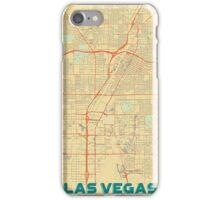Las Vegas Map Retro iPhone Case/Skin