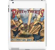 DRIVE BY TRUCKERS TOURS 7 iPad Case/Skin