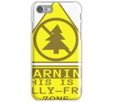 Jolly Free Zone T-Shirt iPhone Case/Skin