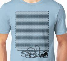 Unravel (in Blue) Unisex T-Shirt