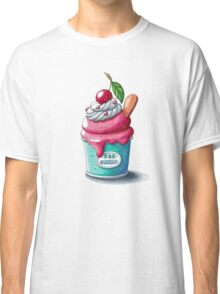 Cherry ice cream cup Classic T-Shirt