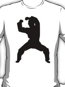 Martial Artist Silhouette T-Shirt