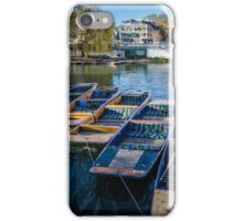 Punts on the River Cam iPhone Case/Skin