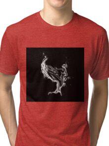 Water splash drawing Tri-blend T-Shirt
