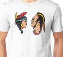 Sailor Tattoo Indians Unisex T-Shirt
