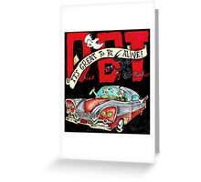 DRIVE BY TRUCKERS TOURS 8 Greeting Card