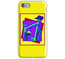 BICYCLE ABSTRACT; Whimsical Print iPhone Case/Skin