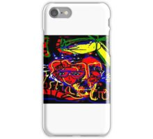 chaos world abstract iPhone Case/Skin