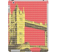 Tower Bridge - Red iPad Case/Skin