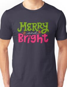 Merry and Bright Unisex T-Shirt