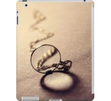 An old monocle iPad Case/Skin