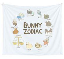 Bunny Zodiac Wall Tapestry