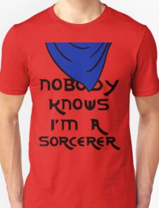 Nobody knows I'm a sorcerer - 2 T-Shirt