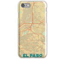 El Paso Map Retro iPhone Case/Skin