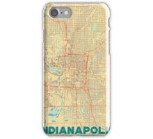 Indianapolis Map Retro iPhone Case/Skin
