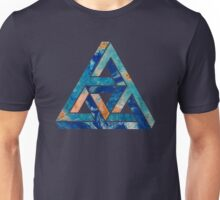 impossible triangle blue Unisex T-Shirt