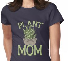 Plant MOM Womens Fitted T-Shirt
