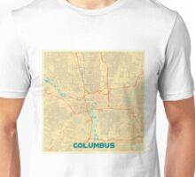 Columbus Map Retro Unisex T-Shirt
