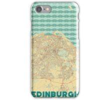 Edinburgh Map Retro iPhone Case/Skin