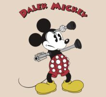Dalek Mickey (plus Text) by SushiSarah