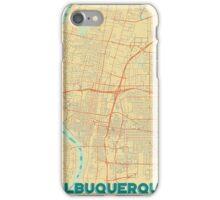 Albuquerque Map Retro iPhone Case/Skin