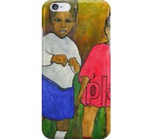 1921-My Daddy and His Sister iPhone Case/Skin