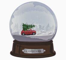 Christmas globe One Piece - Short Sleeve