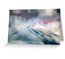 Red/ White/ Blue Greeting Card