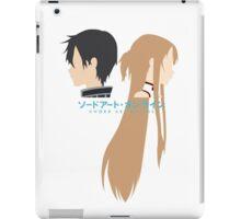 Minimalistic Kirito/Asuna (Sword Art Online) iPad Case/Skin