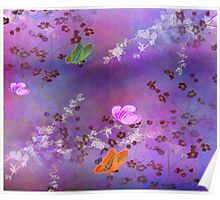 Amethyst  Cherry Blossom Poster